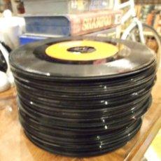 Discos de vinilo: GRAN LOTE DE SINGLES 51 SIN CARATULA - MUSICA ESPAÑOLA Y AMERICANA DE LOS 60. Lote 149639454