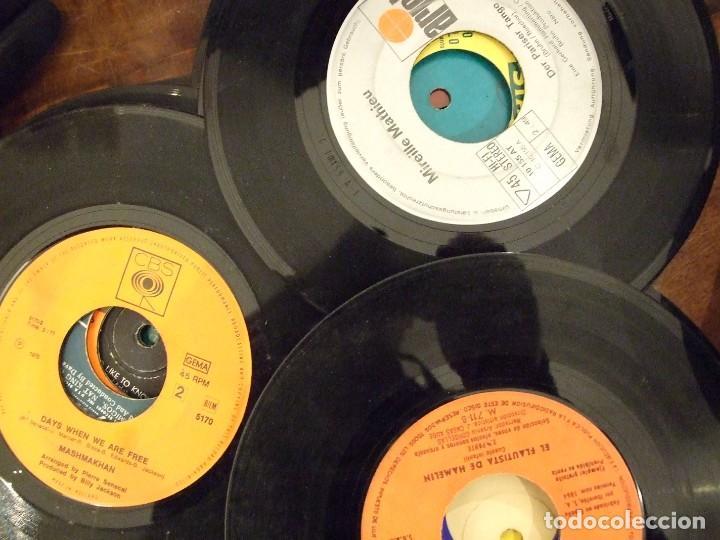 Discos de vinilo: GRAN LOTE DE SINGLES 80 SIN CARATULA - MUSICA VARIADA ANTERIOR A LOS 80 - Foto 9 - 149639454