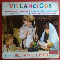 Discos de vinilo: DISCO VINILO EP VILLANCICOS CORO INFANTIL ELISENDA AÑO 1964. Lote 149646925