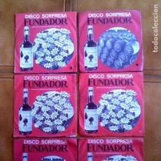 Discos de vinilo: LOTE DE DISCOS FUNDADOR VARIOS ,DE LOS 70 Y 60. Lote 149669982