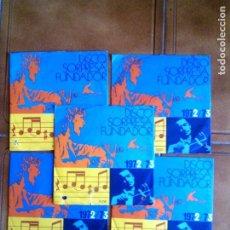 Discos de vinilo: LOTE DE DISCOS SORPRESA FUNDADOR 1972,73 VARIOS. Lote 149670146