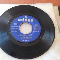 Discos de vinilo: THE BEATLES. MAXI SINGLE. SHE LOVES/ FROM ME TO YOU.. Lote 149680985