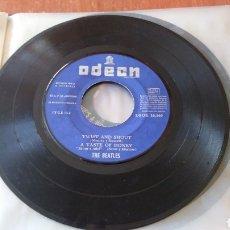 Discos de vinilo: THE BEATLES. TWIST AND SHOUT. 1963. MAXI SINGLE. SIN PORTADA.. Lote 149682694