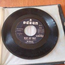 Discos de vinilo: THE BEATLES. BLUE JAY WAY. 1967. ODEON SIN PORTADA. Lote 149683726