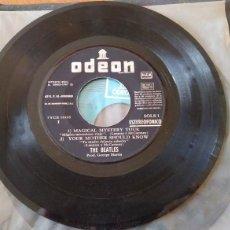 Discos de vinilo: THE BEATLES. MÁGICAL MISTERY TOUR. I AM THE WALRUS. 1967. SIN PORTADA M. Lote 149684036