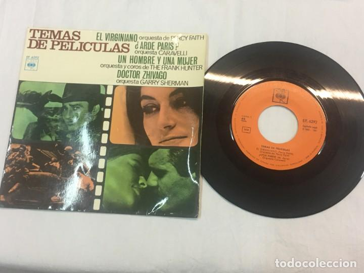 BANDA SONORA SINGLE ORIGINAL AÑOS 60/70. RAD75 (Música - Discos de Vinilo - EPs - Bandas Sonoras y Actores)