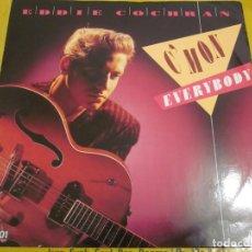 Discos de vinilo: EDDIE COCHRAN - C'MON EVERYBODY - MAXI 4 TEMAS - EDICION UK DEL AÑO 1988.. Lote 149685826