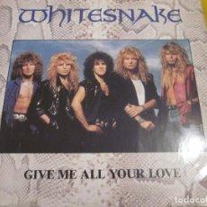 Discos de vinilo: WHITESNAKE - GIMME ALL YOUR LOVE - MAXI 3 TEMAS - EDICION UK DEL AÑO 1987.. Lote 149689414