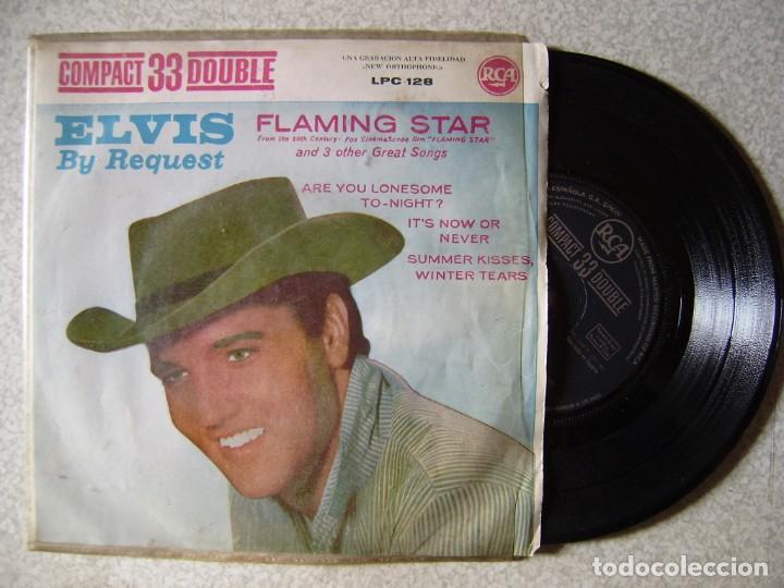 ELVIS PRESLEY.FLAMING STAR+3...VINILO EX (Música - Discos de Vinilo - EPs - Rock & Roll)