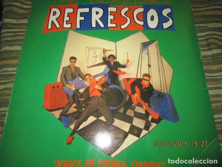 REFRESCOS - KINGS OF CHUN CHUNDA LP - ORIGINAL ESPAÑOL - - POLYDOR RECORDS 1990 FUNDA INT. ORIGINAL (Música - Discos - LP Vinilo - Grupos Españoles de los 70 y 80)