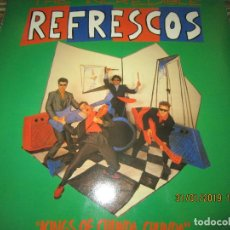 Discos de vinilo: REFRESCOS - KINGS OF CHUN CHUNDA LP - ORIGINAL ESPAÑOL - - POLYDOR RECORDS 1990 FUNDA INT. ORIGINAL. Lote 149693522