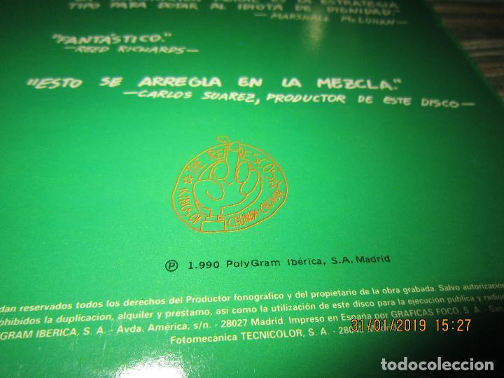 Discos de vinilo: REFRESCOS - KINGS OF CHUN CHUNDA LP - ORIGINAL ESPAÑOL - - POLYDOR RECORDS 1990 FUNDA INT. ORIGINAL - Foto 4 - 149693522