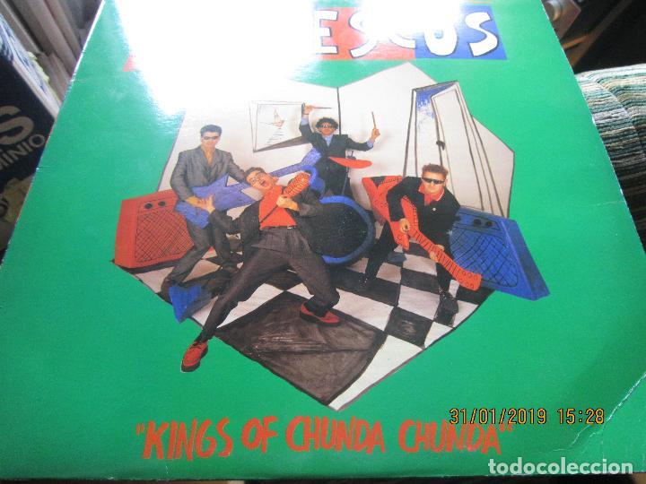 Discos de vinilo: REFRESCOS - KINGS OF CHUN CHUNDA LP - ORIGINAL ESPAÑOL - - POLYDOR RECORDS 1990 FUNDA INT. ORIGINAL - Foto 7 - 149693522