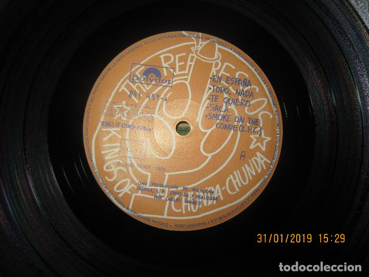 Discos de vinilo: REFRESCOS - KINGS OF CHUN CHUNDA LP - ORIGINAL ESPAÑOL - - POLYDOR RECORDS 1990 FUNDA INT. ORIGINAL - Foto 11 - 149693522