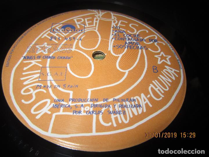 Discos de vinilo: REFRESCOS - KINGS OF CHUN CHUNDA LP - ORIGINAL ESPAÑOL - - POLYDOR RECORDS 1990 FUNDA INT. ORIGINAL - Foto 14 - 149693522