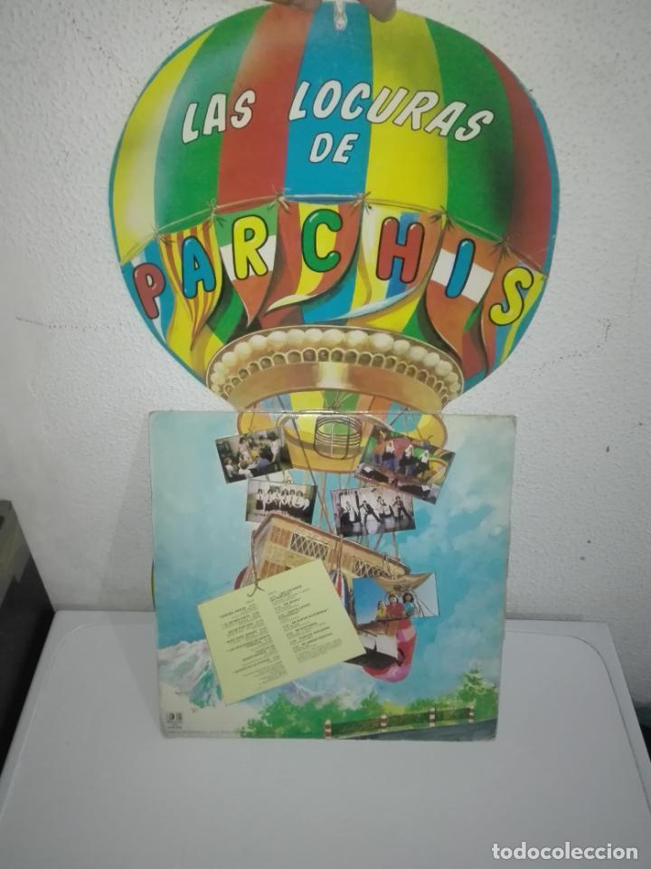 Discos de vinilo: Disco vinilo LAS LOCURAS DE PARCHÍS LP 1982 VINILO COLOR AMARILLO - Foto 2 - 149710826