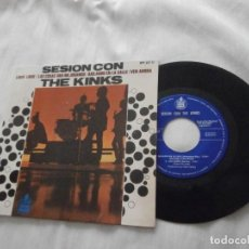 Discos de vinilo: THE KINKS 7´EP SESION CON THE KINKS (LOUIE LOUIE + 3) 1965 EDICION ESPAÑOLA *NUEVO* MINT* COLECCION.. Lote 149716522