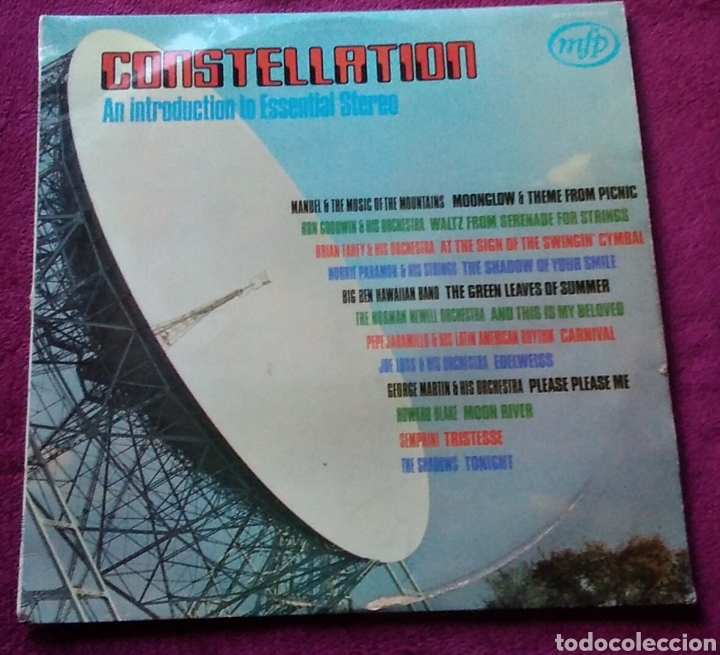 DISCO VINILO CONSTELLATION AN INTRODUCTION TO ESSENTIAL STEREO AÑO 1964 MFP STEREO (Música - Discos - LP Vinilo - Disco y Dance)
