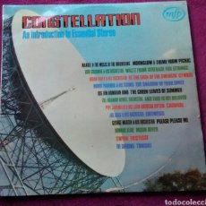 Discos de vinilo: DISCO VINILO CONSTELLATION AN INTRODUCTION TO ESSENTIAL STEREO AÑO 1964 MFP STEREO. Lote 149728800
