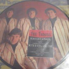 Discos de vinilo: THE TROGGS - EVERY LITTLE THING - SG PICTURE DISC - EDICION UK DEL AÑO 1984.. Lote 149744294