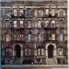 Discos de vinilo: LED ZEPPELIN. PHYSICAL GRAFFITI. SWAN SONG-WEA, GERMANY 1975 (2 LP+ CUBIERTA TROQUELADA + ENCARTES). Lote 149786722