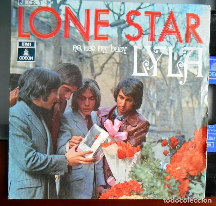 Discos de vinilo: lone star-Emi Odeon-1970 Lyla - No,not my baby. - Foto 1 - 149793490