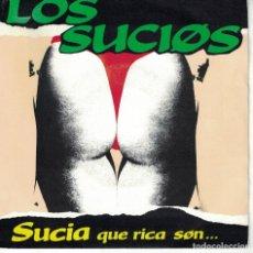 Disques de vinyle: LOS SUCIOS - SUCIA QUE RICA SON / ACID MIX VERSION (SINGLE PROMO ESPAÑOL, WILD RECORDS 1990). Lote 149807826