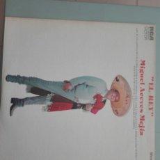 Discos de vinilo: MIGUEL ACEVES MEJÍA EL REY 1976 RCA #. Lote 149808214