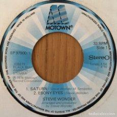 Discos de vinil: STEVIE WONDER EP SATURN + 3 EDIC HOLANDA DISCO EXCELENTE. Lote 149809302