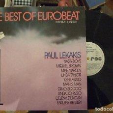 Discos de vinilo: THE BEST OF EUROBEAT - EUROBEAT IS ENERGY VOL. 1 - ZYX RECORDS ZYX 20076. Lote 149828150