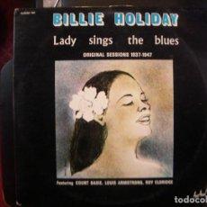 Discos de vinilo: BILLIE HOLIDAY- LADY SINGS THE BLUES. DOBLE ALBUM.. Lote 149838746