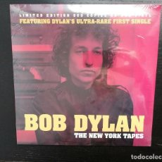 Discos de vinilo: BOB DYLAN - THE NEW YORK TAPES - LP RED VYNIL LIMITED EDITION 500 COPIES - NEW. Lote 149841218