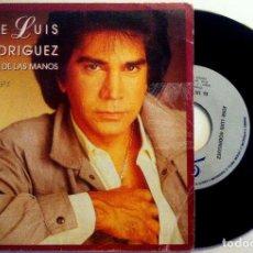 Dischi in vinile: JOSÉ LUIS RODRÍGUEZ - AGARRENSE DE LAS MANOS / EL ULTIMO BESO - SINGLE 1985 - EPIC. Lote 149845410