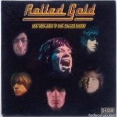 Discos de vinilo: ROLLING STONES. ROLLED GOLD. THE VERY BEST. DECCA, UK 1975 (2 LP + DOBLE CARPETA). Lote 149856218