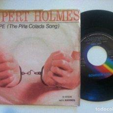 Disques de vinyle: RUPERT HOLMES - ESCAPE (THE PIÑA COLADA SONG) / DROP IT - SINGLE 1980 - MCA. Lote 149859390