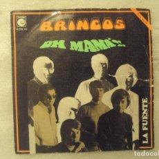 Discos de vinilo: LOS BRINCOS, OH MAMA'!! LA FUENTE. SINGLE EDICION ESPAÑOLA 1969 NOVOLA. Lote 149864578