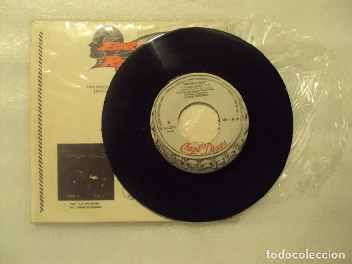 Discos de vinilo: BARON ROJO, LOS ROCKEROS VAN AL INFIERNO, INCOMUNICACION. SINGLE EDICION ESPAÑOLA 1981 CHAPA-DISCO - Foto 4 - 149866386