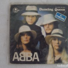 Discos de vinilo: ABBA, DANCING QUEEN. THAT'S ME. SINGLE EDICION ESPAÑOLA 1976. CARNABY. Lote 149866890