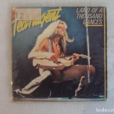 Discos de vinilo: TED NUGENT, LAND OF A THOUSAND DANCES. SINGLE PROMOCIONAL EDICION ESPAÑOLA 1981 EPIC. Lote 149868378