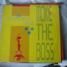 Discos de vinilo: THE CONCRETE BEAT MAKE THE BASS . Lote 149870982