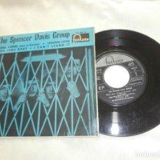 Discos de vinilo: THE SPENCER DAVIS GROUP 7´EP CORRE,CORRE (KEEP ON RUNNING) + 3 (1966) 1ª EDICION ORIGINAL ESPAÑOLA. Lote 149873238