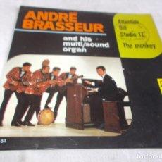 Discos de vinilo: ANDRÉ BRASSEUR AND HIS MULTI/SOUND ORGAN . Lote 149877638
