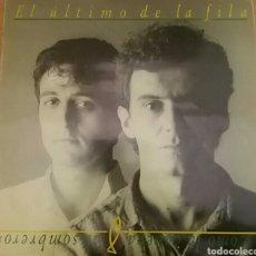 Discos de vinilo: EL ÚLTIMO DE LA FILA. COMO LA CABEZA AL SOMBRERO. PDI, ESPAÑA, 1988.. Lote 149878510