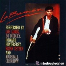 Discos de vinilo: LA BAMBA, BSO - LP SPAIN 1987 (LOS LOBOS, HOWARD HUNTSBERRY, Y OTROS). Lote 194353692