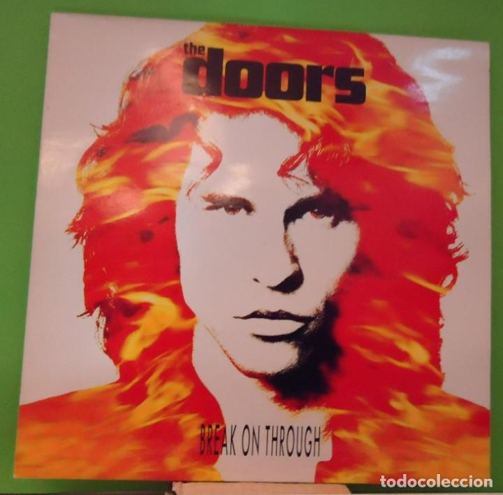 MAXI 12'' THE DOORS - BREAK ON THROUGH (Música - Discos de Vinilo - Maxi Singles - Pop - Rock Extranjero de los 50 y 60)