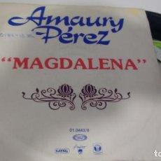 Discos de vinilo: SINGLE (VINILO)-PROMOCION- DE AMAURY PEREZ AÑOS 79. Lote 149913422