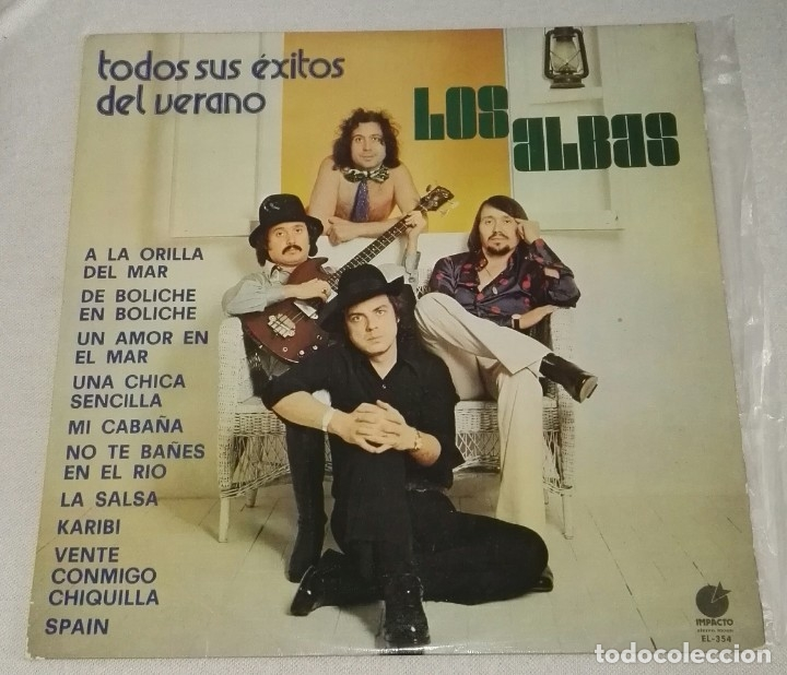 LP LOS ALBAS TODOS SUS EXITOS DEL VERANO (Música - Discos - LP Vinilo - Grupos Españoles de los 70 y 80)