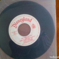 Discos de vinilo: DISCO DE WALT DISNEY PEDRO Y EL LOBO. Lote 149960078