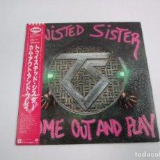 Discos de vinilo: VINILO EDICIÓN JAPONESA DEL LP DE TWISTED SISTER - COME OUT AND PLAY. Lote 149965958