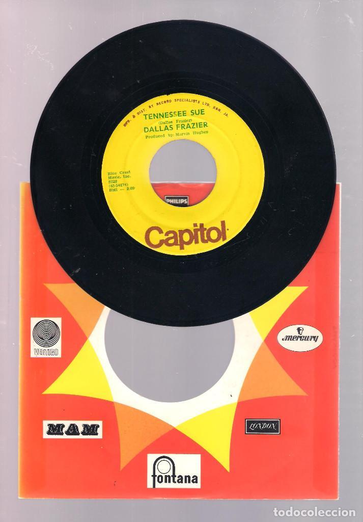 DALLAS FRAZIER - TENNESSE SUE / ESPECIALLY FOR YOU (SINGLE 7'' ) (Música - Discos - Singles Vinilo - Country y Folk)